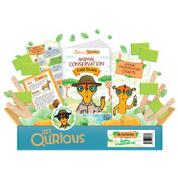 .Get Qurious Animal Conservation Box