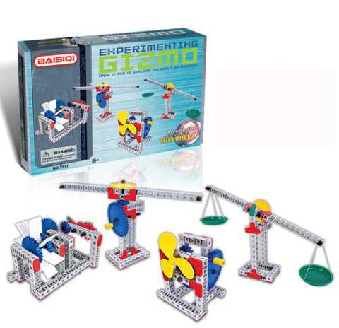 Intellective Blocks that join together to make machines that explain physics to young children