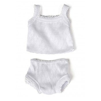 MINILAND Dolls Underwear & Singlet - Fits Miniland & Lovely Baby Collections