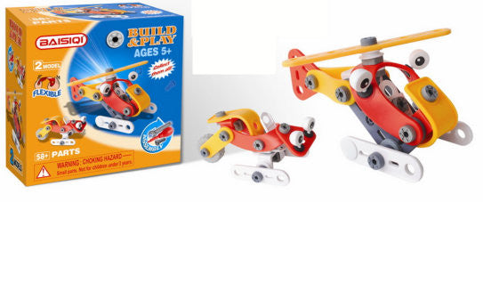 Baisiqi Build it yourself Helicopter and 1 other model for ages 5 and up