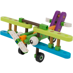 GIGO Junior Engineer Planes 10 models including Passenger jets and gliders - Ages 3 and up