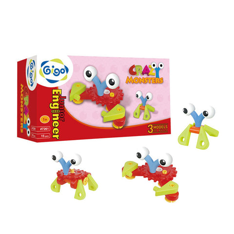 GIGO Junior Engineer Crazy Monsters