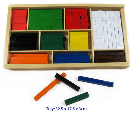 FUN FACTORY Cuisenaire Maths Rods
