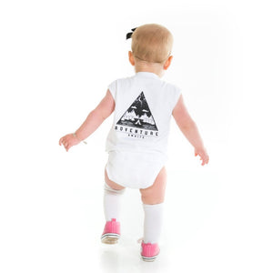 Adventure Awaits Singlet Onesie