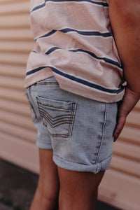 Byron Denim Short