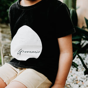 Stonewashed Grommie Tee