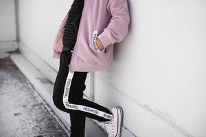 COTTON JACKET - MAUVE