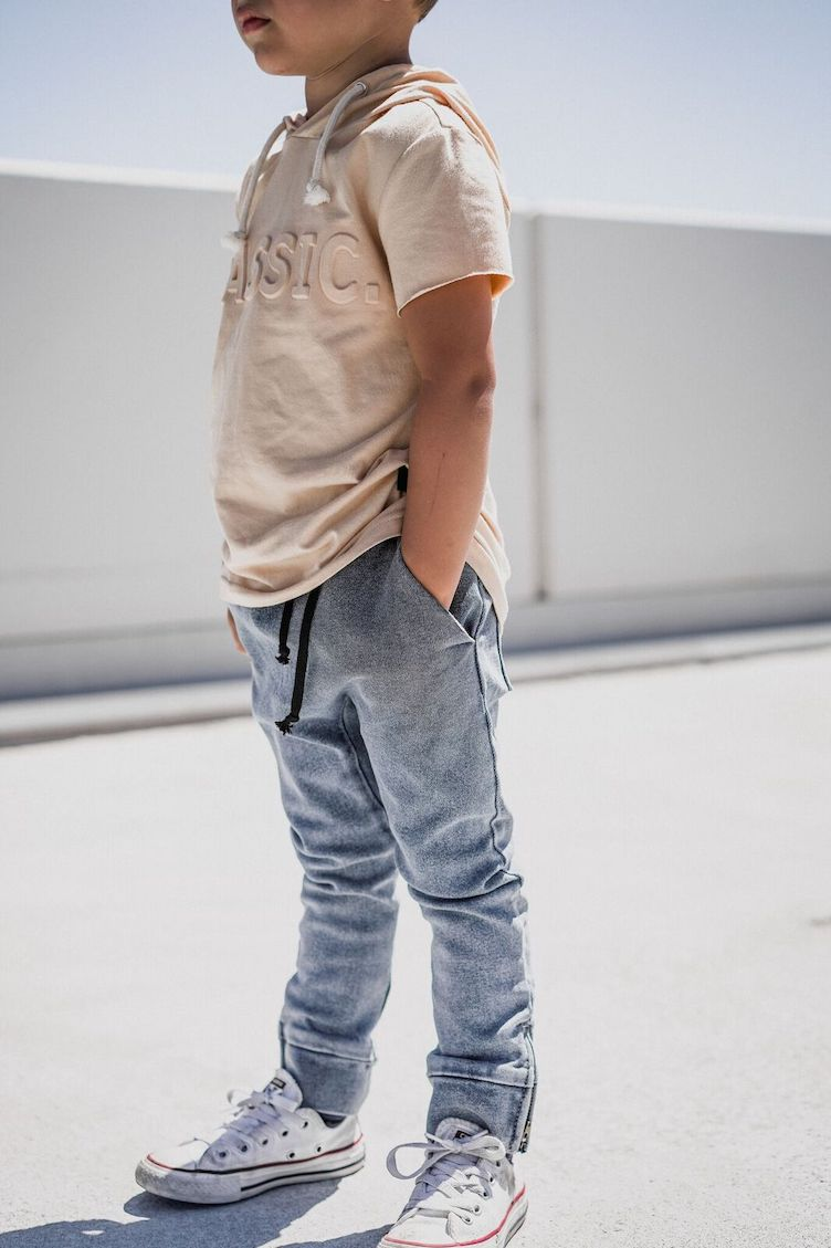 DENIM CHINOS