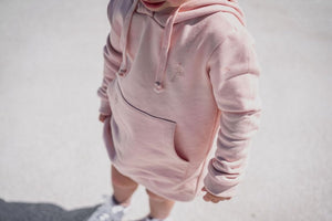 PINK HOODED CREW