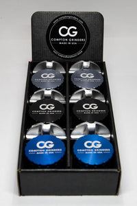 "Compton Grinders 2.0"" 4 Piece Grinder 6 Pack Display"