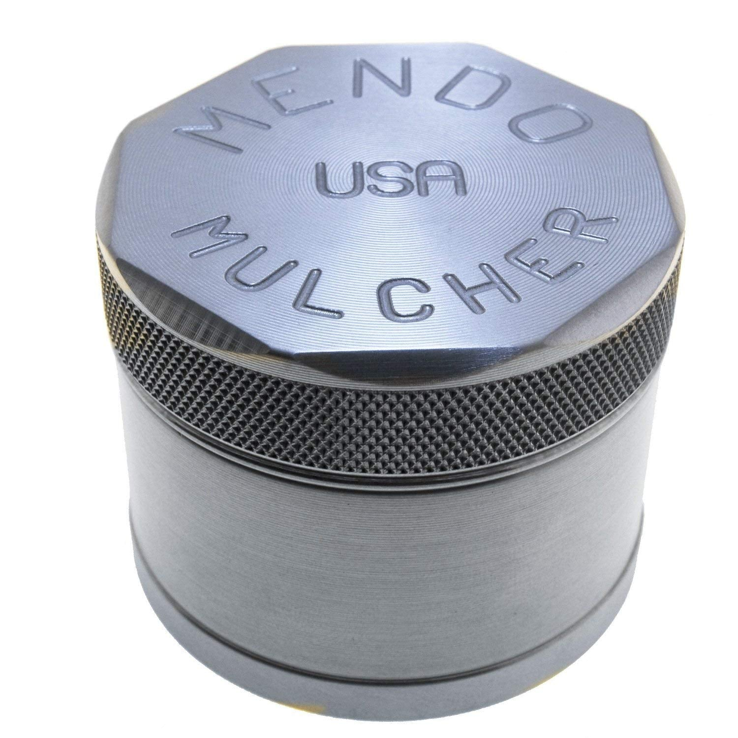 "Mendo Mulcher 1.75"" 4 Piece Grip Edge Grinder"