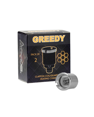 Atmos Greedy Chamber Clapton Coil - 2 Pack