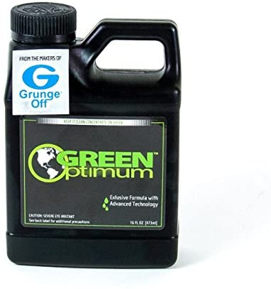 Grunge Off Green Optimum Glass Cleaner 16 oz - 12 Pack