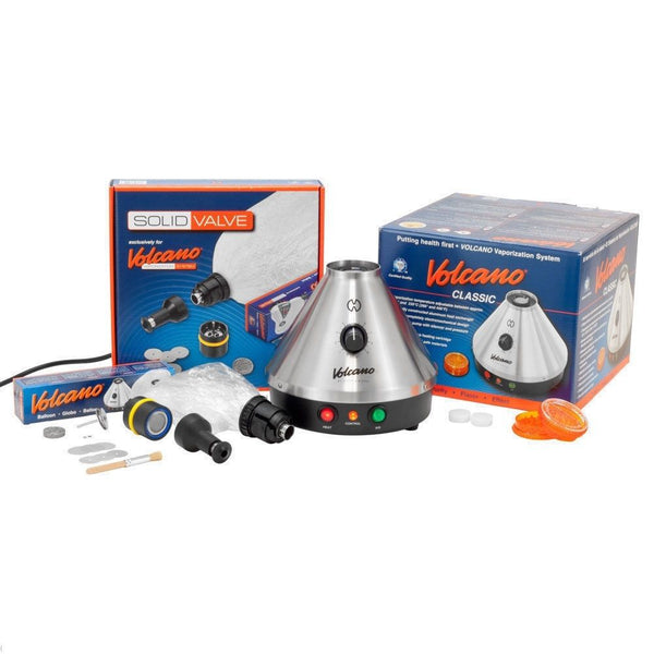 Storz & Bickel Volcano Classic Vaporizer With Solid Valve