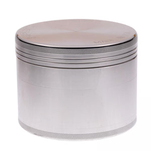 Space Case Magnetic Large 4 Piece Grinder - Aluminum