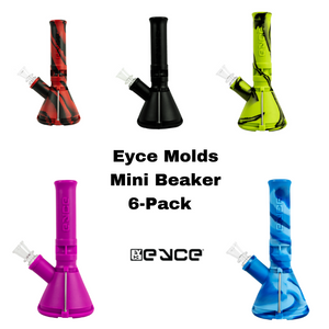 Eyce Mini Beaker - Pack of 6 Assorted Colors