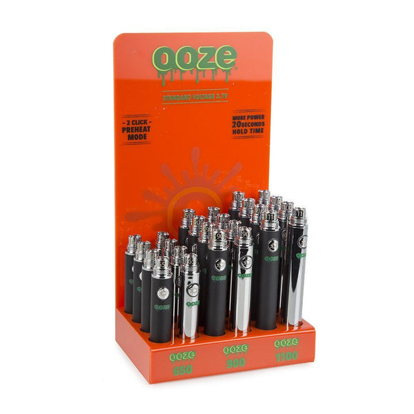 Ooze Standard Battery Display - 24 count