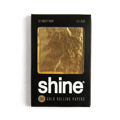 Shine 24k Gold Papers (12­-Sheet Pack)