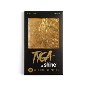 Shine Tyga X King Size (6­-Sheet Pack)