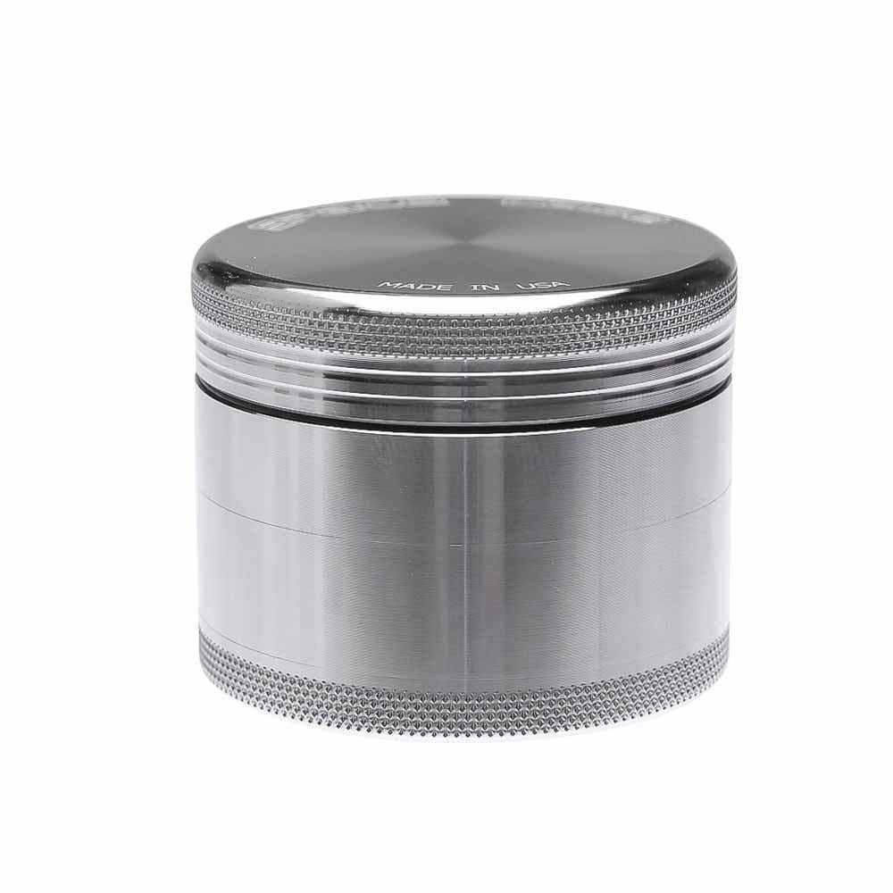 Space Case Magnetic Small 4 Piece Grinder - Aluminum