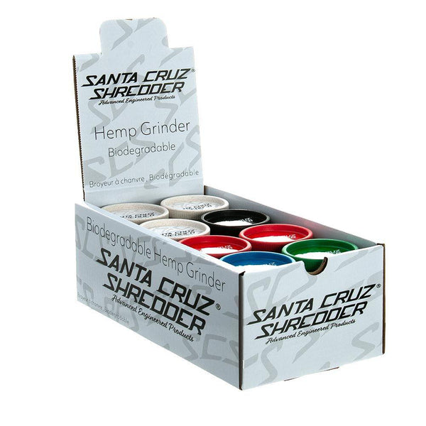 Santa Cruz Shredder All Hemp 3 Piece Grinders (Mixed x16)