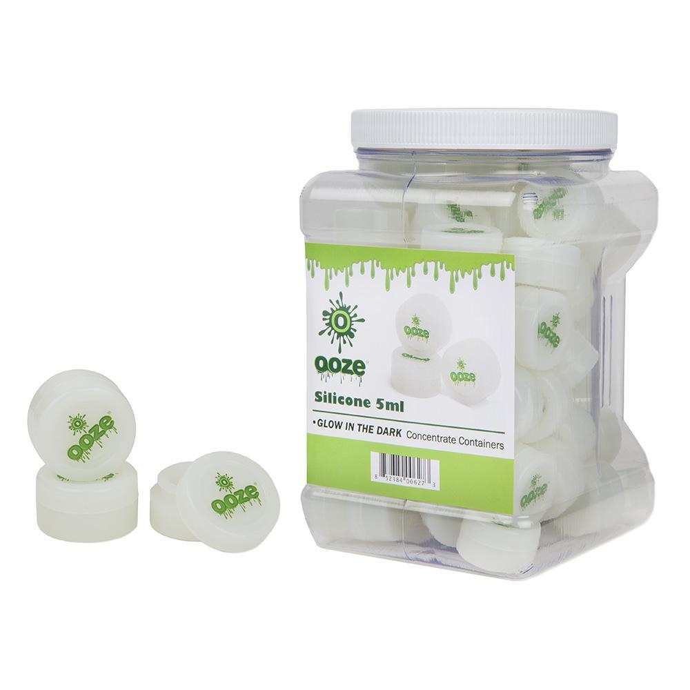 Ooze Silicone Containers Glow In The Dark - 5ml - 75ct