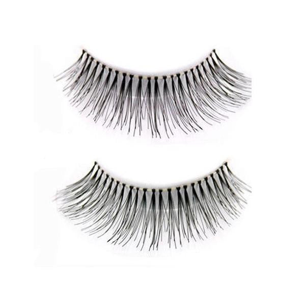 10 Pieces Sparse Cross Eyelashes Extension Makeup Long False Eyelashes