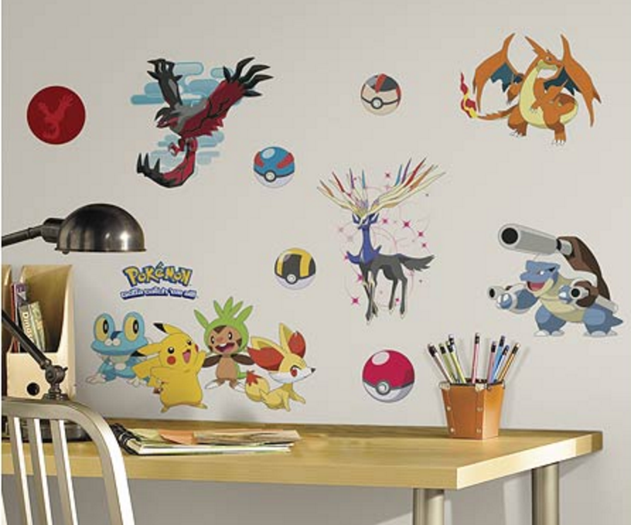 Pokemon XY Peel And Stick Wall Decals ... Part 67