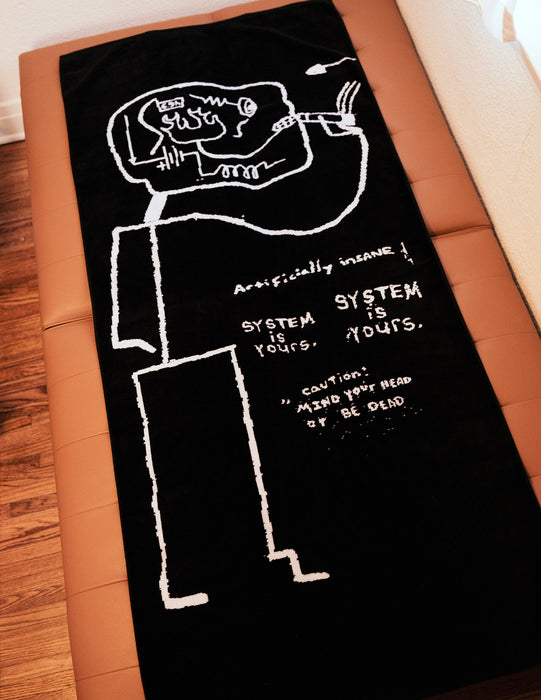 'SHORT CIRCUIT' TOWEL