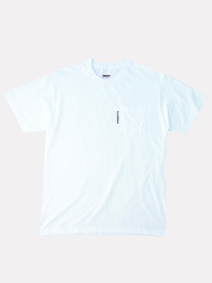 SECT POCKET TEE WHITE