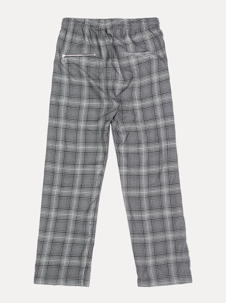 SMOKE PLAID WAISTBAND PANT