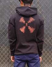 Load image into Gallery viewer, 'Indistinct Hoodie' Black