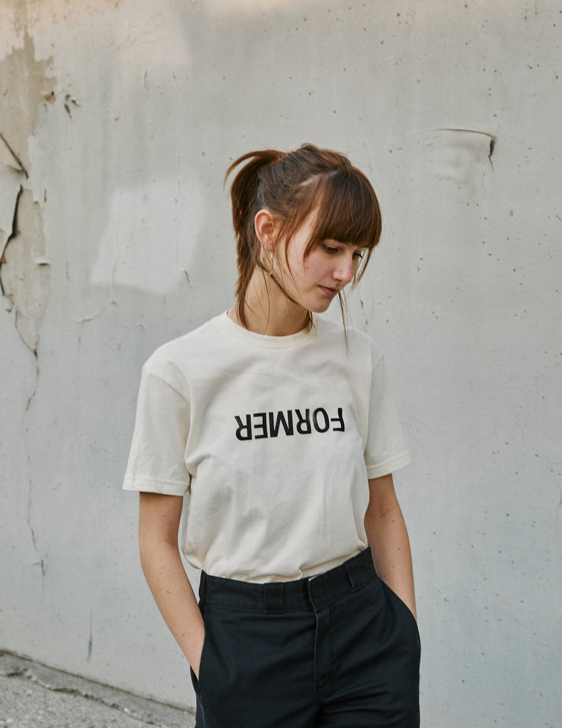 UNCONVENTIONAL TEE WHITE
