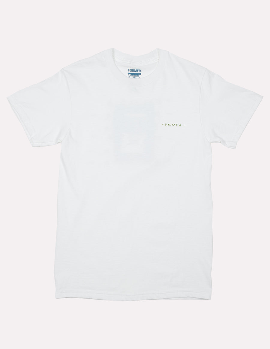 Nefarious White Tee