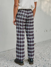 Load image into Gallery viewer, Prayer Pant Smoke Plaid