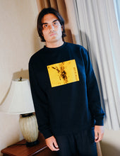 Load image into Gallery viewer, 'Systematic Crewneck' Black
