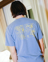 Load image into Gallery viewer, 'Unfamiliar Tee' Washed Blue