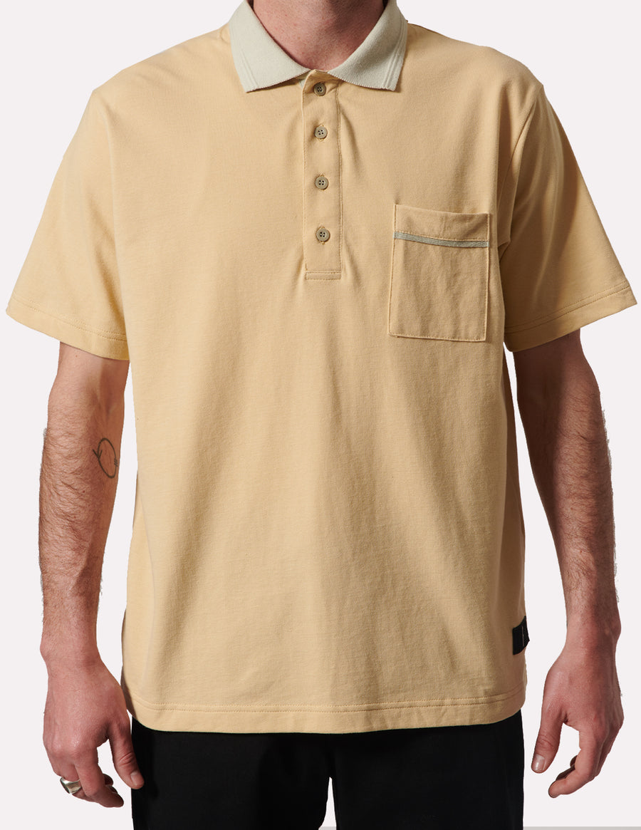 Uniform S/S Creme Polo