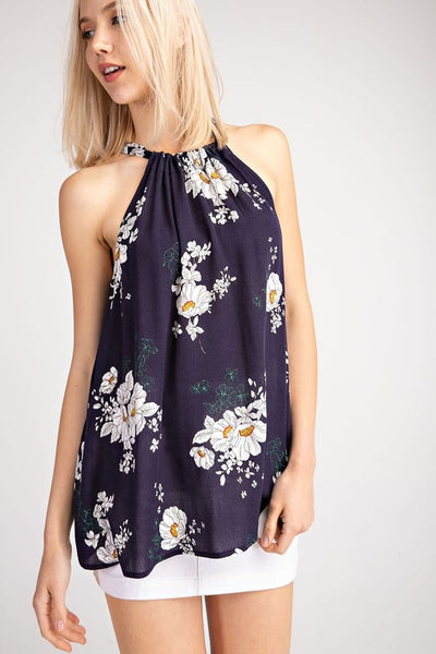 Lovely Floral Halter