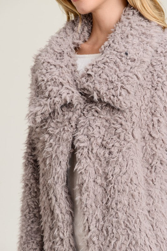 Fluffy Dreamy Over Sized Faux Fur - Coming Soon