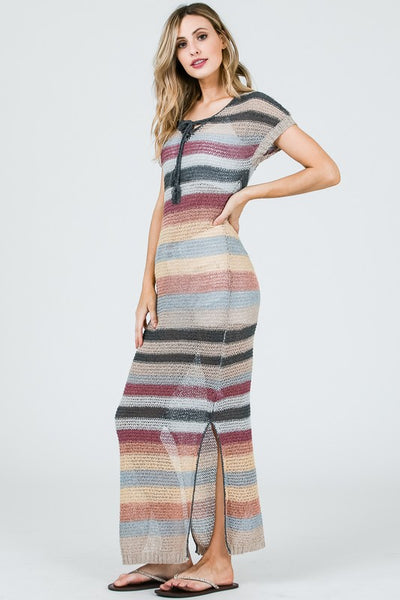 Light Weight Knit Maxi
