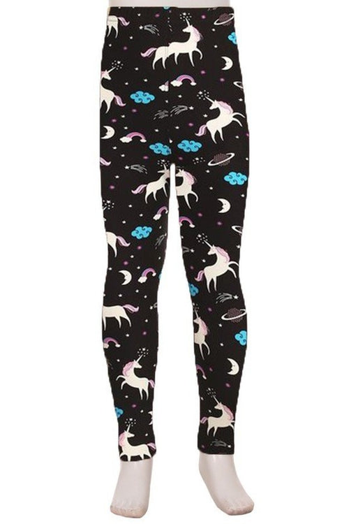 Unicorn Print Leggings - Kids