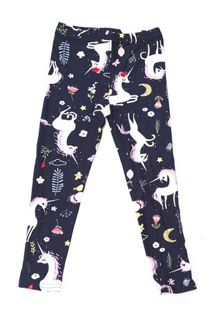 Peaceful Unicorn Leggings - Kids