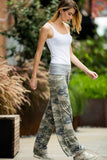 CAMO PRINT CASUAL PANTS