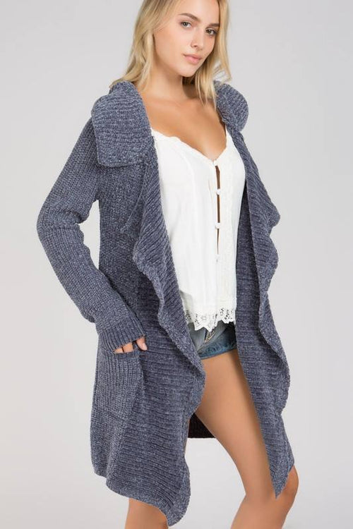 Waterfall Open Cardigan