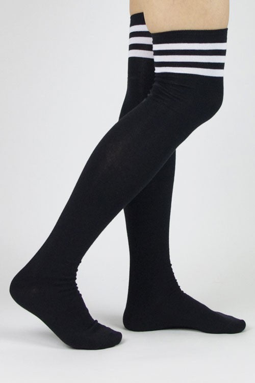 HIGH SCHOOL OVER THE KNEE HIGH SOCKS