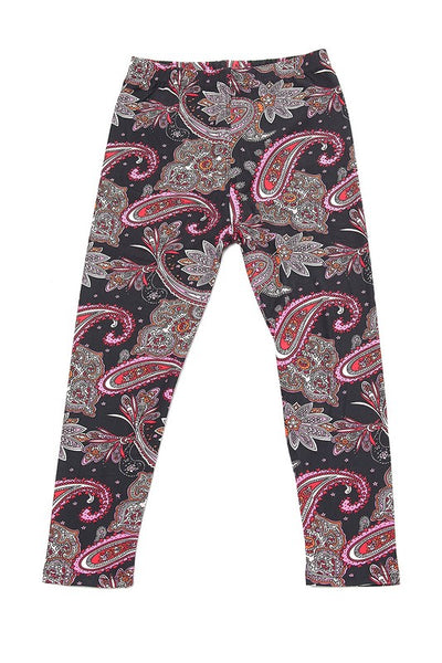 Pink & Red Paisley - Kids