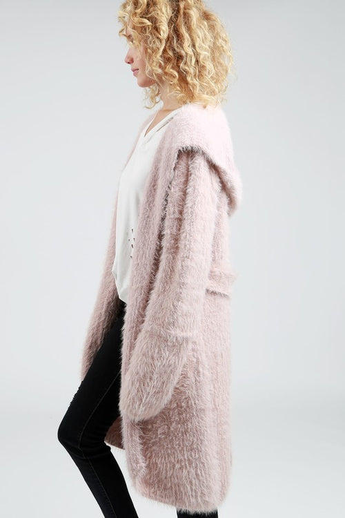 Dream List Cardigan W/ Hood - 2 Colors