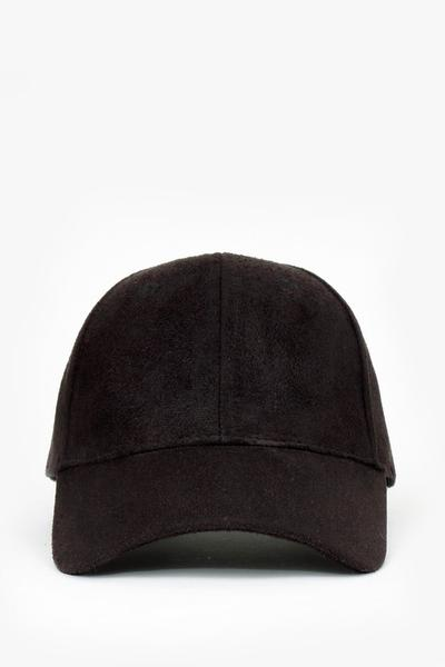 CASUAL FAUX SUEDE BASEBALL CAP - More Colors