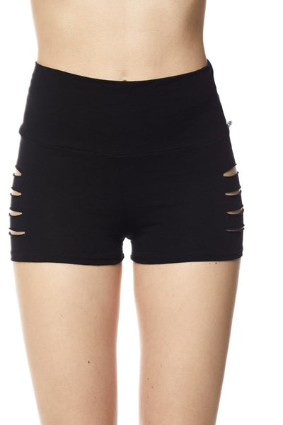 Side Slash Mini Short